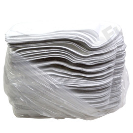 Oil Only Absorbent Spill Pads, 15 in x 18 in, Bundle of 100