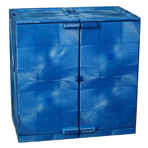 24 Gal. Quik-Assembly Poly Acid & Corrosive Cabinet in Side by Side configuration