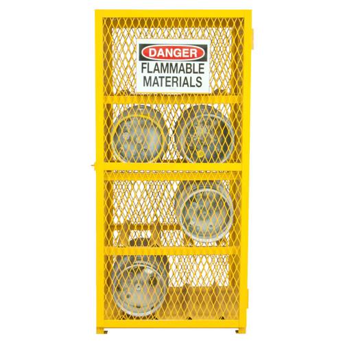 8 Cylinder Cradles hold 20 lb or 33-1/2 lb LPG cylinders securely