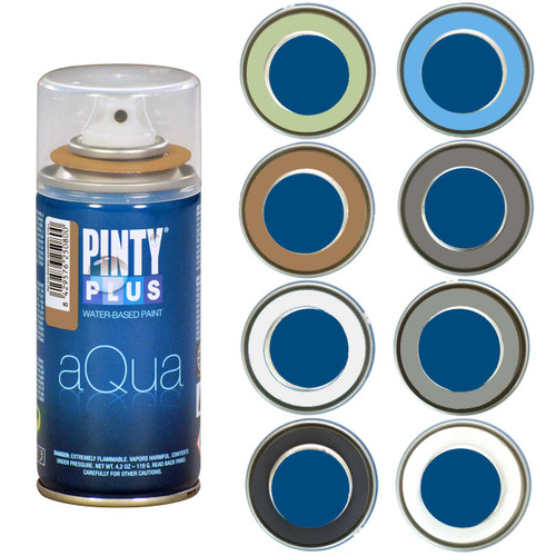 PINTYPLUS AQUA 210cc - 8 Piece Assortment - Landscape Colors