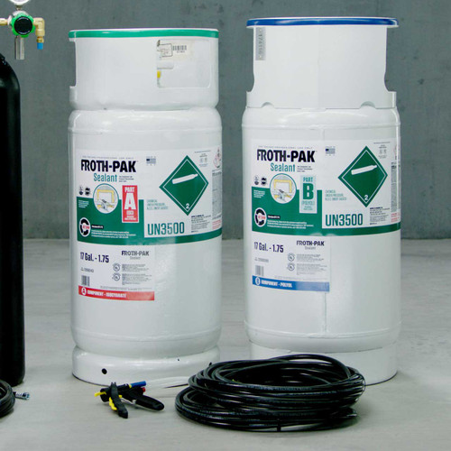 Low GWP FROTH-PAK™ 120 Gallon Insulation Refill