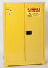 45 Gallon Flammable Liquid Safety Cabinet, 9 piece 5 Gallon Can Combo Eagle 1947CS9