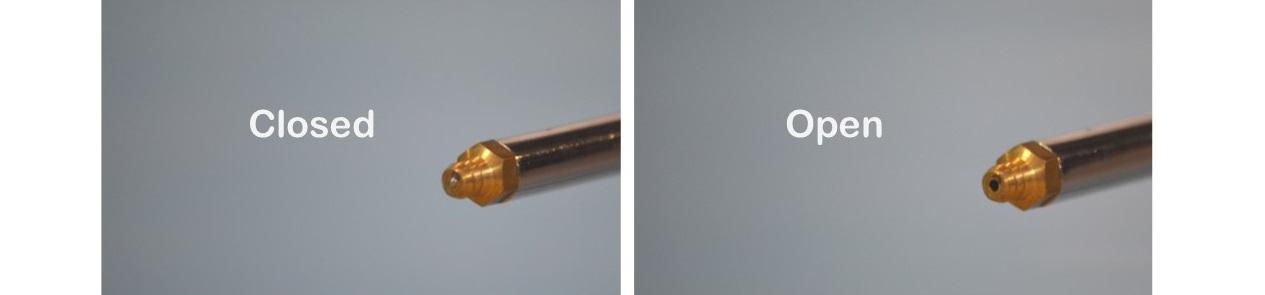 Close-up Foam Gun Tip