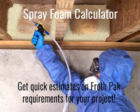 Spray Foam Board Ft Calculator