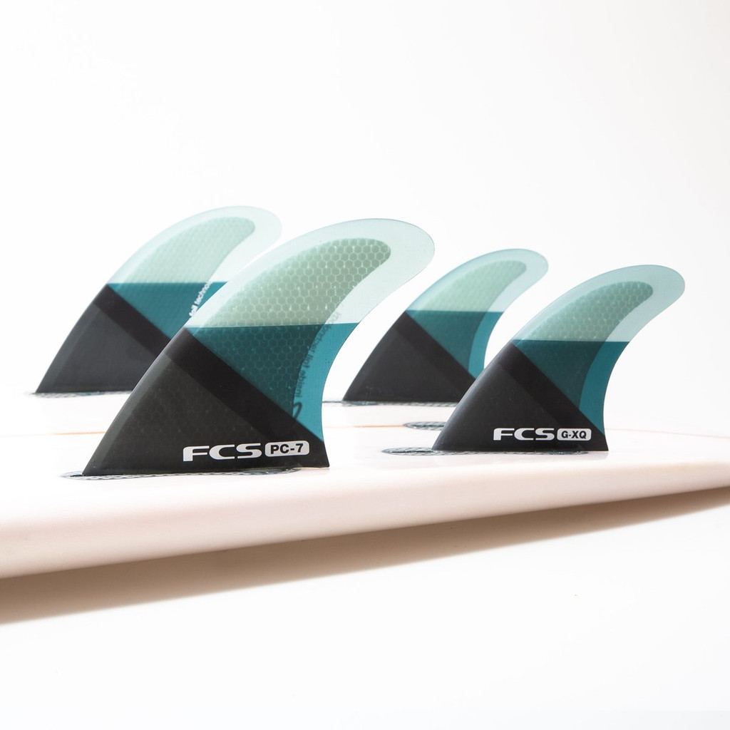 FCS PC QUAD FINS - SET