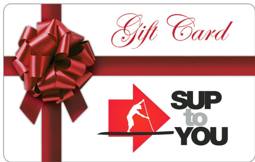 A to Z SUP Gift Card