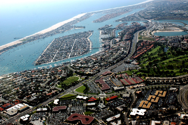 Lido and Balboa Islands and Peninsula