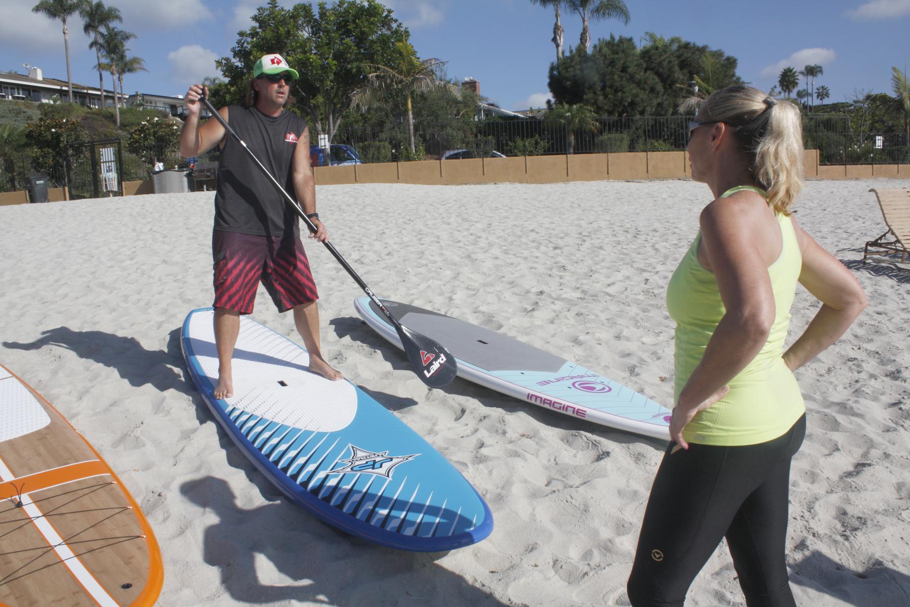 paddle board DEMO