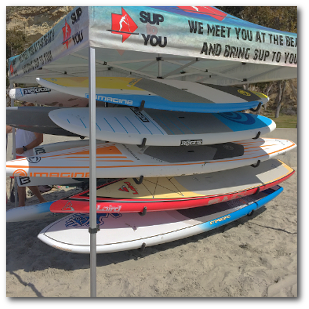SUP to You demo days in Dana Point California