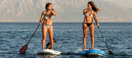 best inflatable paddle board is light weight, easy to carry and is very stable.