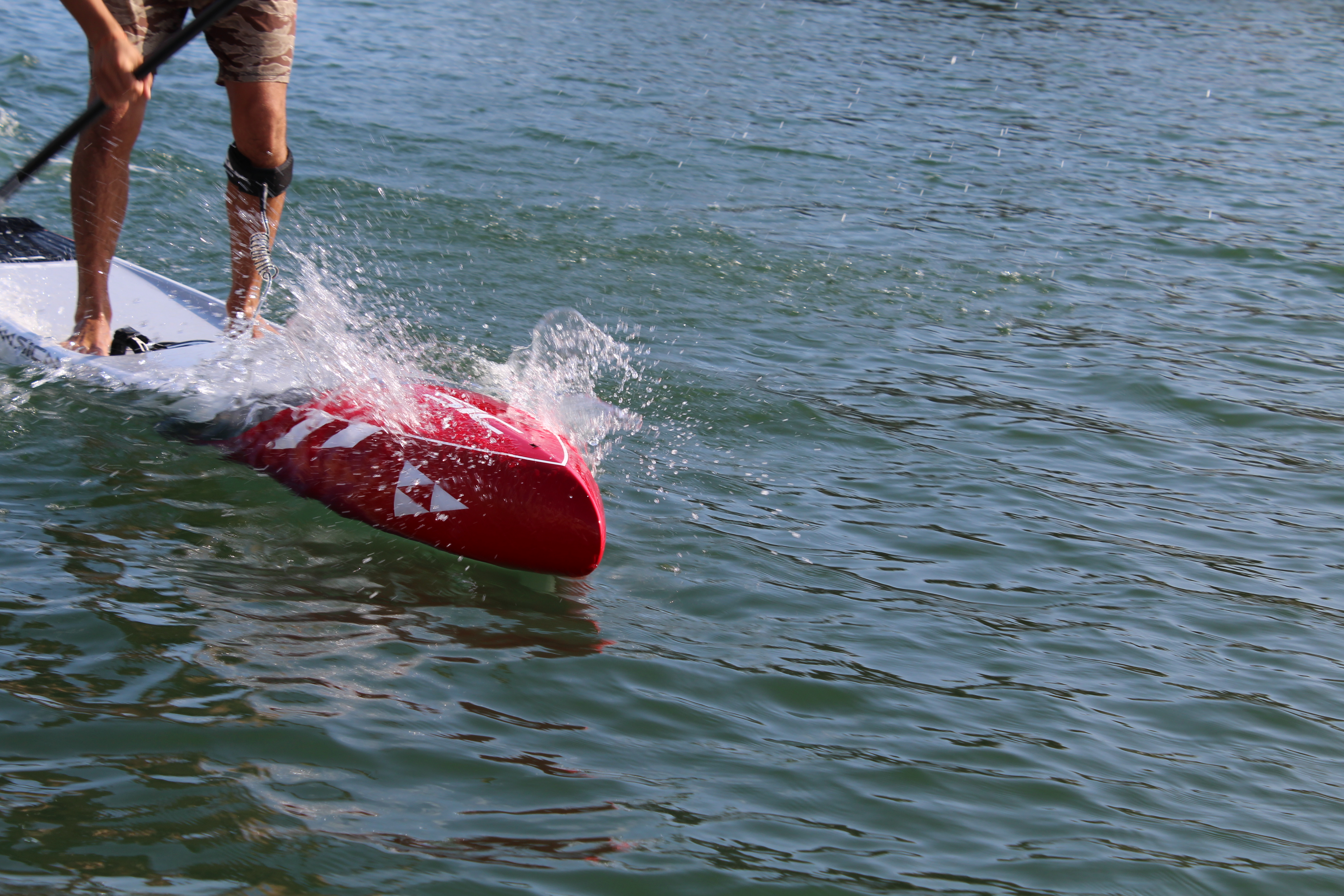 Taking a SUP to You board for a test run