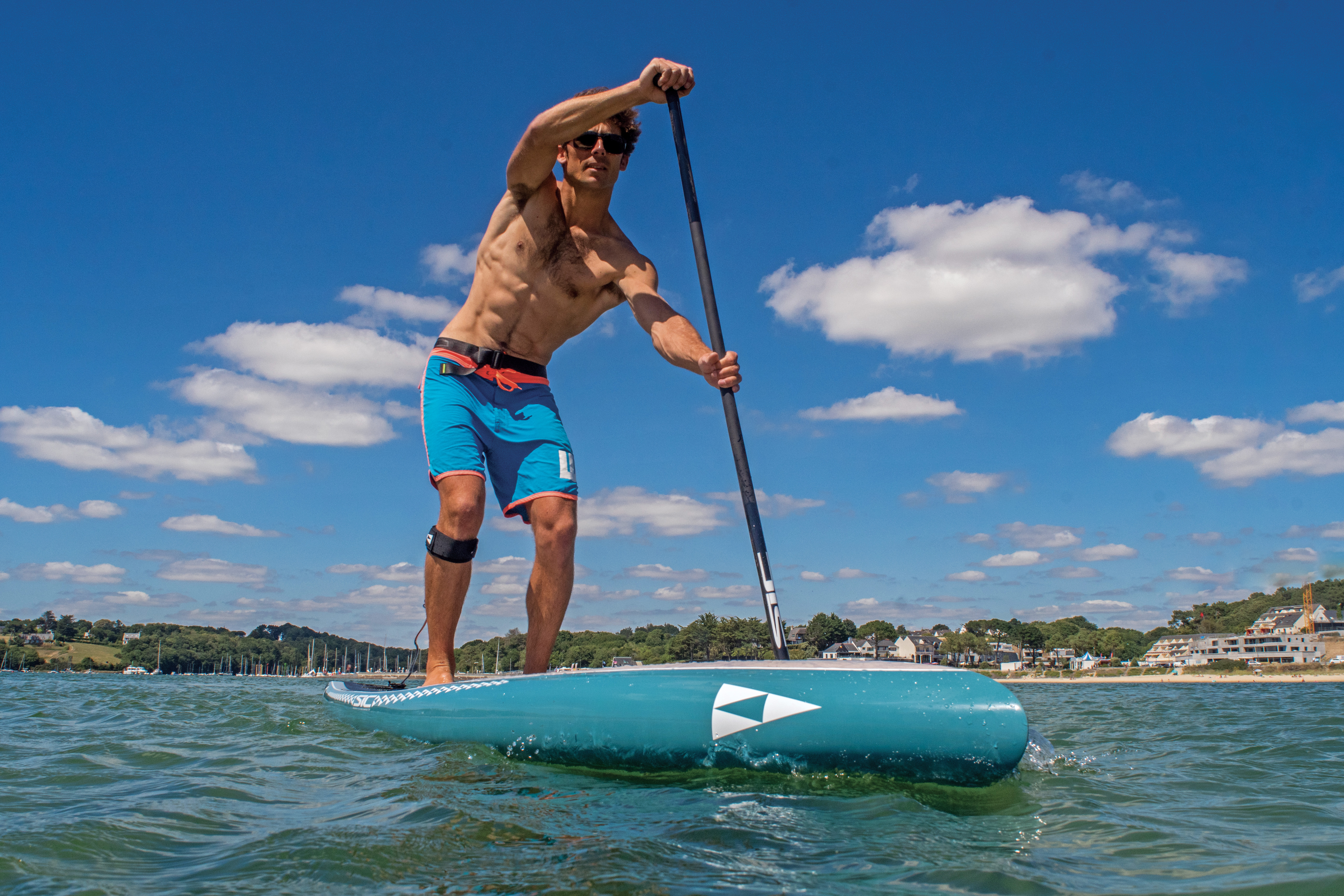 Taking a SIC SUP for a test run