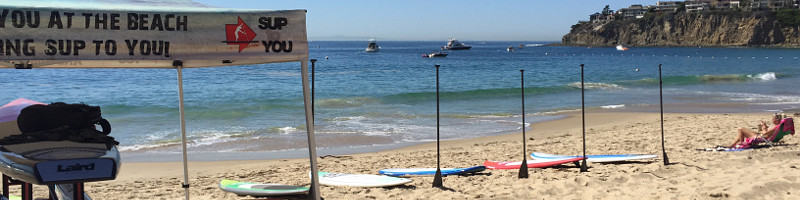 demo paddle boards display