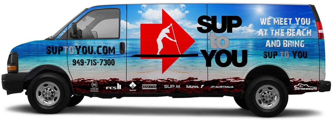 Let us bring the SUP store TO YOU!