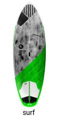 Quatro Carve Pro 8.2 - paddle board surfing