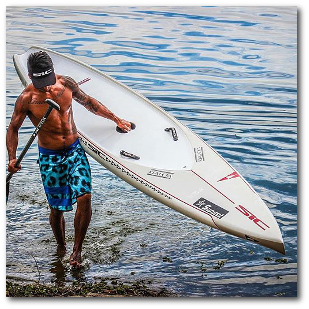 Paddle board upgrade program at Sup to You.