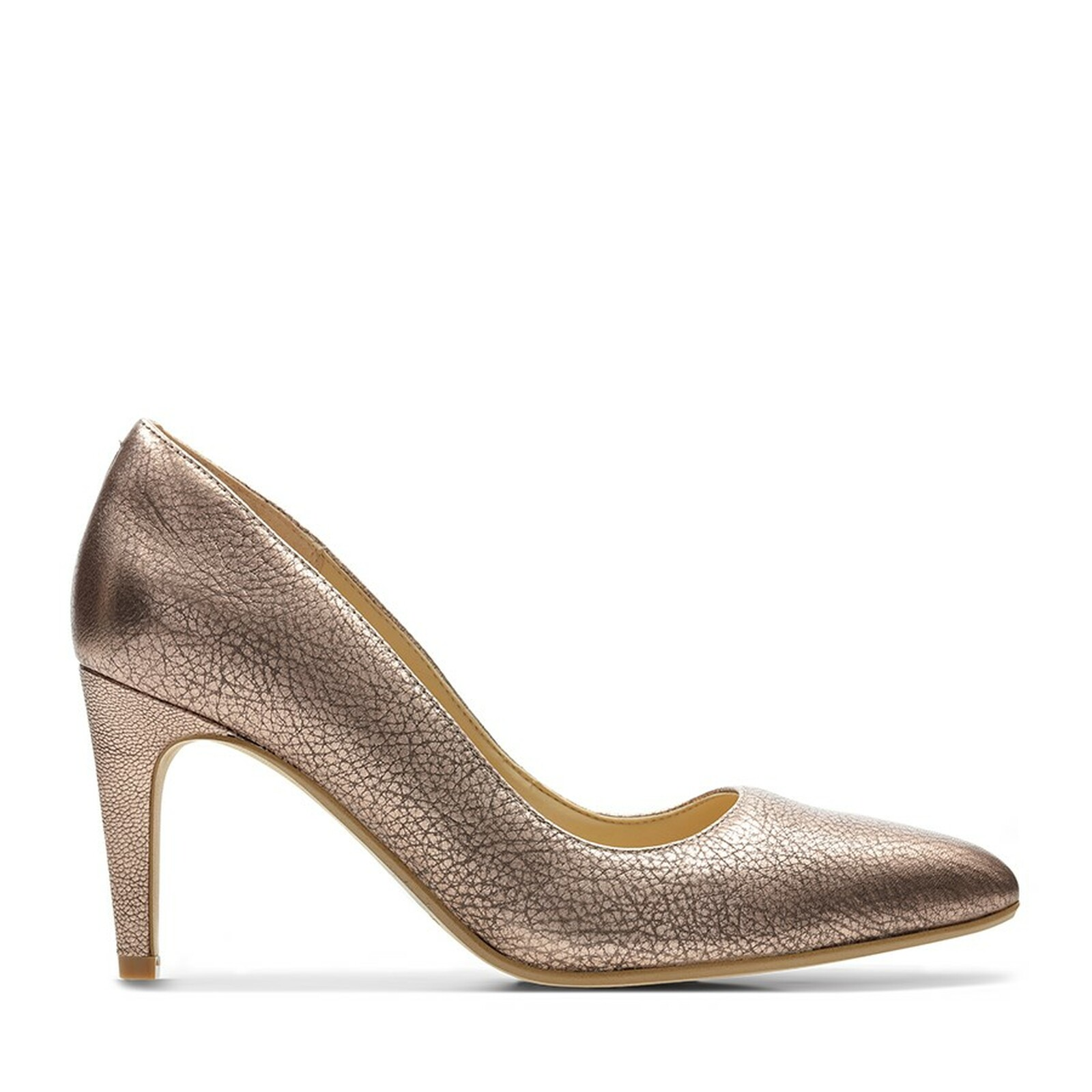 Clarks Womens LAINA RAE Rose Gold Leather