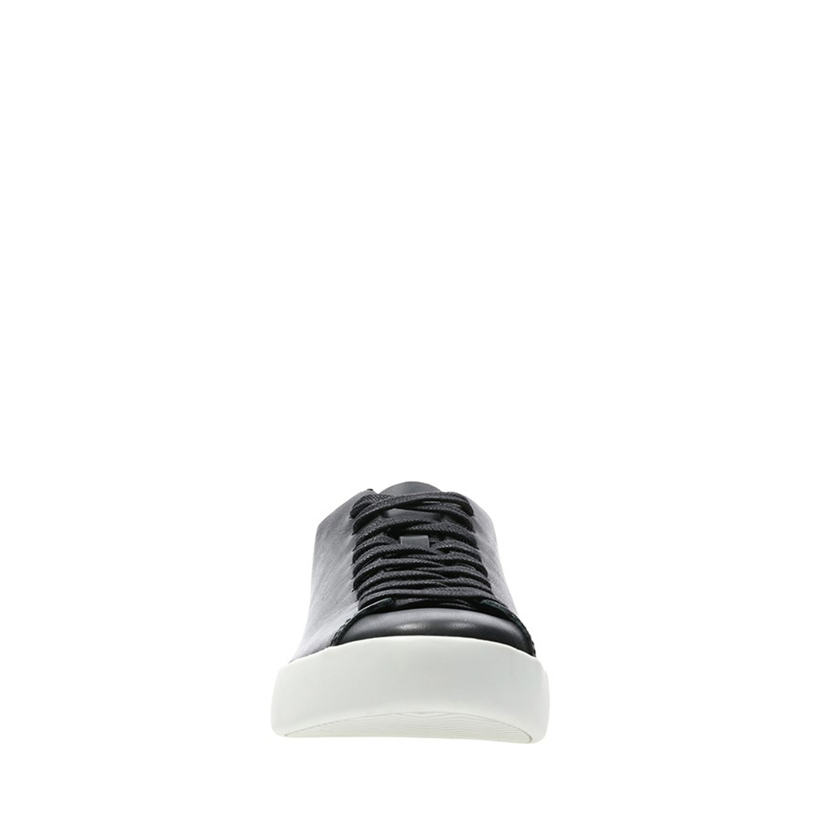 Clarks Womens ARLO LACE Black Leather