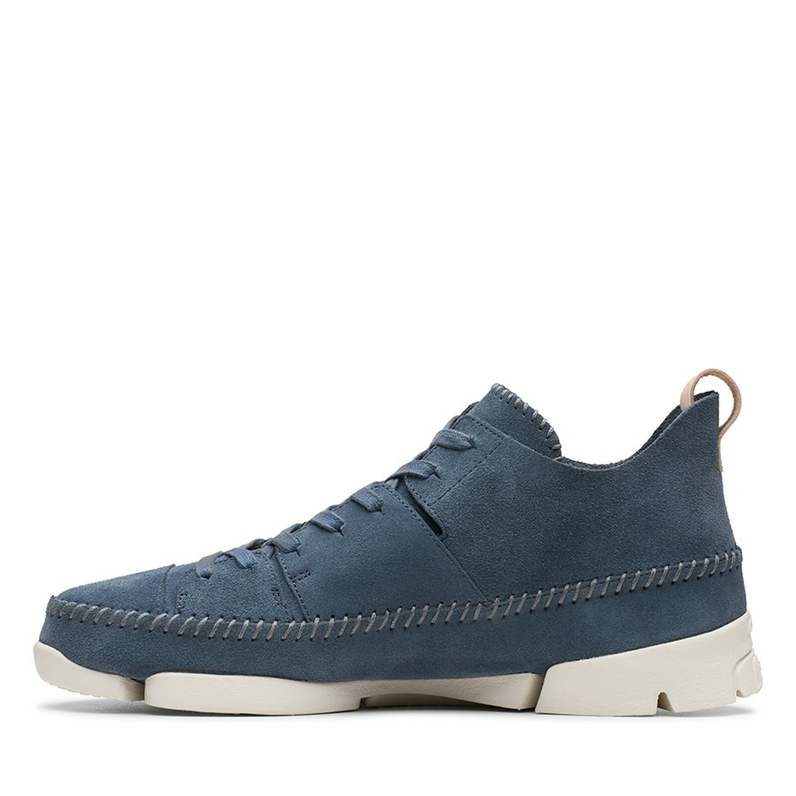 Clarks Mens TRIGENIC FLEX Deep Blue Suede