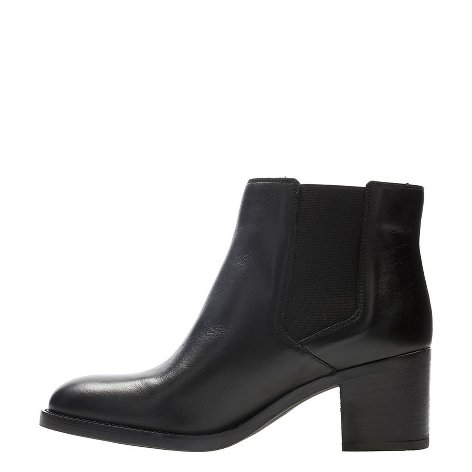 Clarks Womens MASCARPONE BAY Black Leather