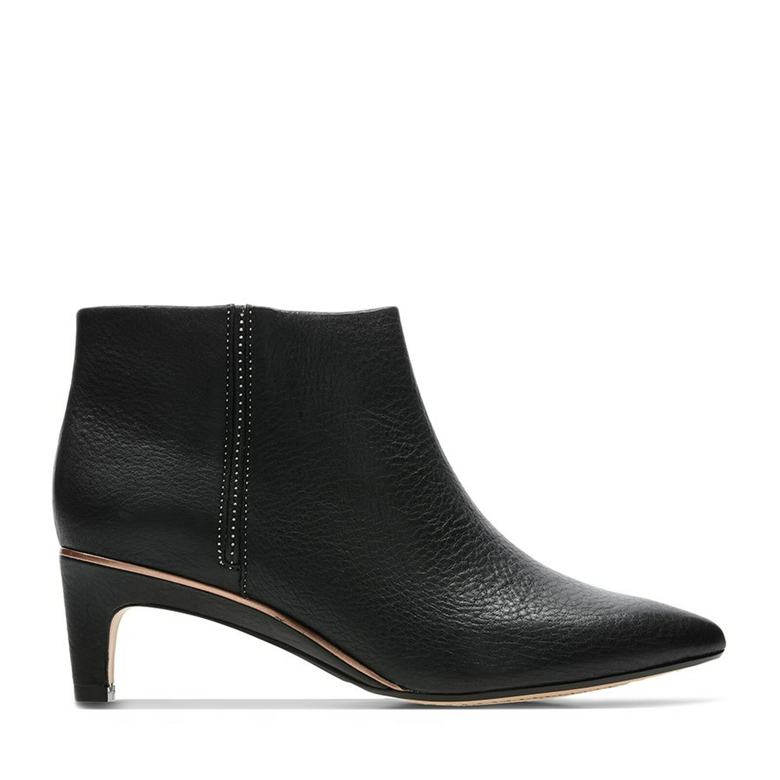 Clarks Womens ELLIS EDEN Black Leather