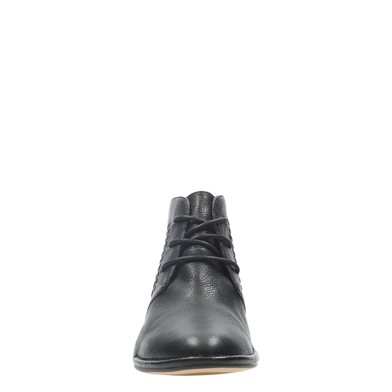 Clarks Womens SPICED CHARM Black Leather