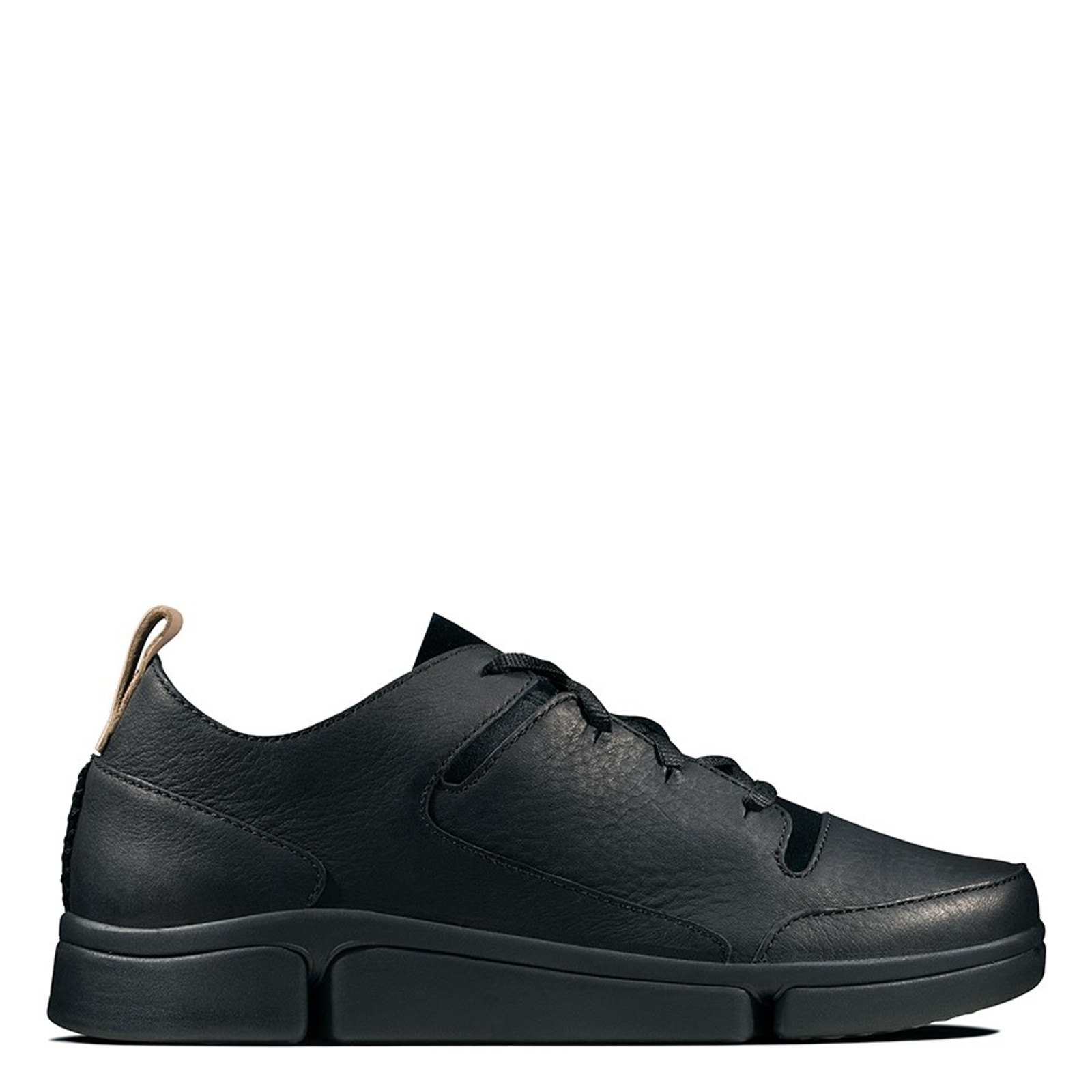 Clarks Womens TRI TURN Black Combo Leather