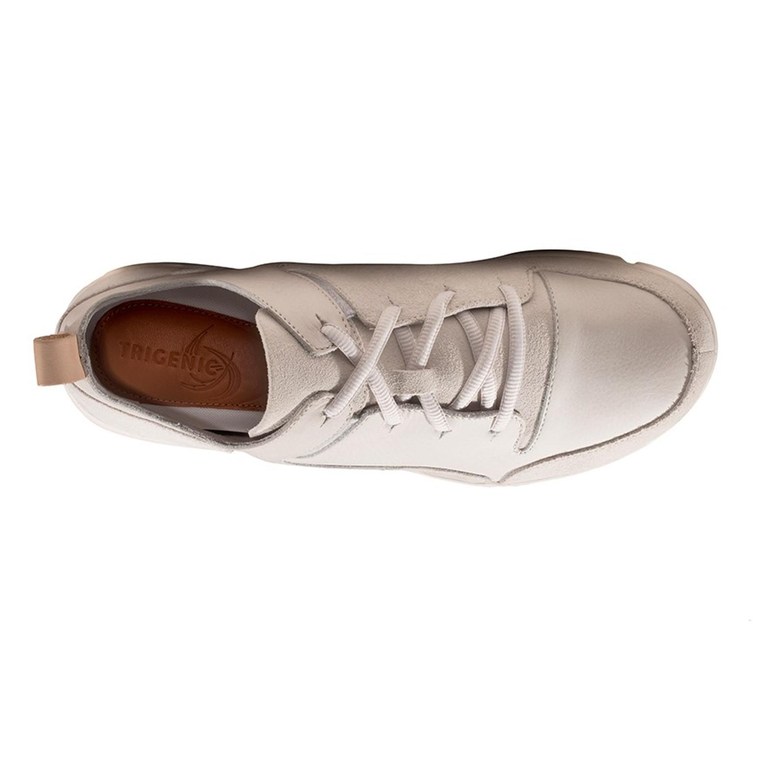Clarks Mens TRI VERVE LACE White Leather