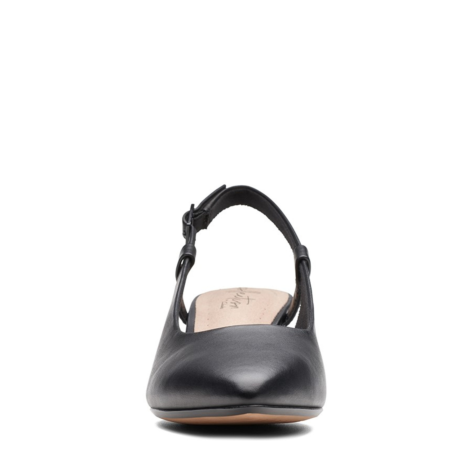 Clarks Womens LINVALE LOOP Black Leather