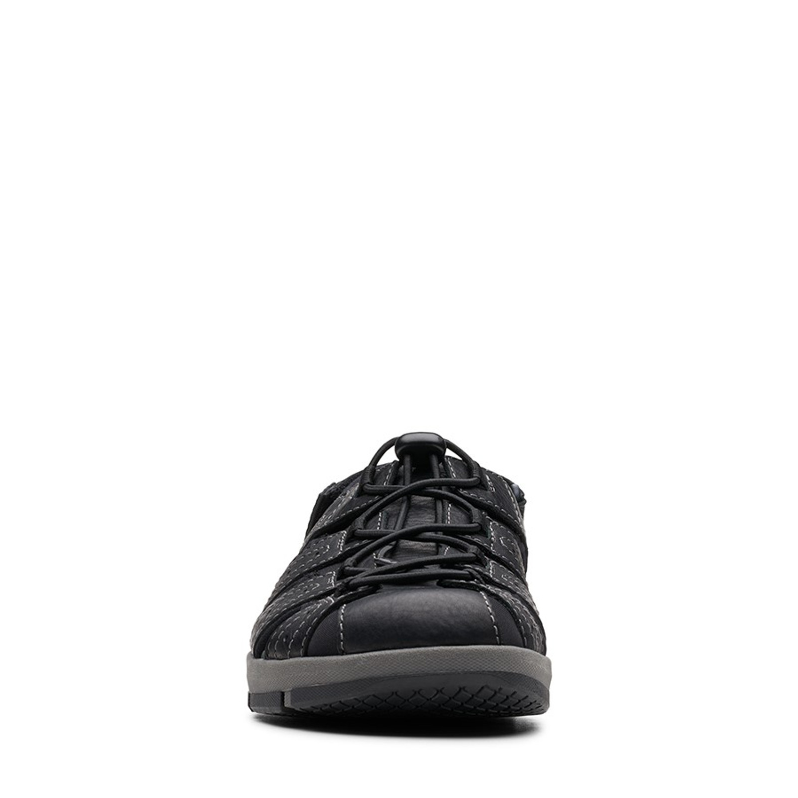 Clarks Mens BRIXBY COVE Black Leather