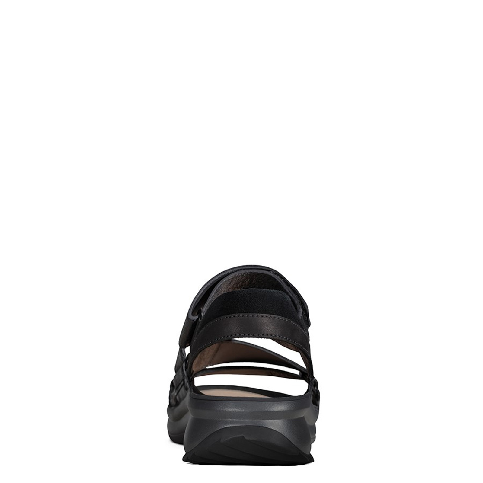 Clarks Womens TRI EASE Black Interest Leather