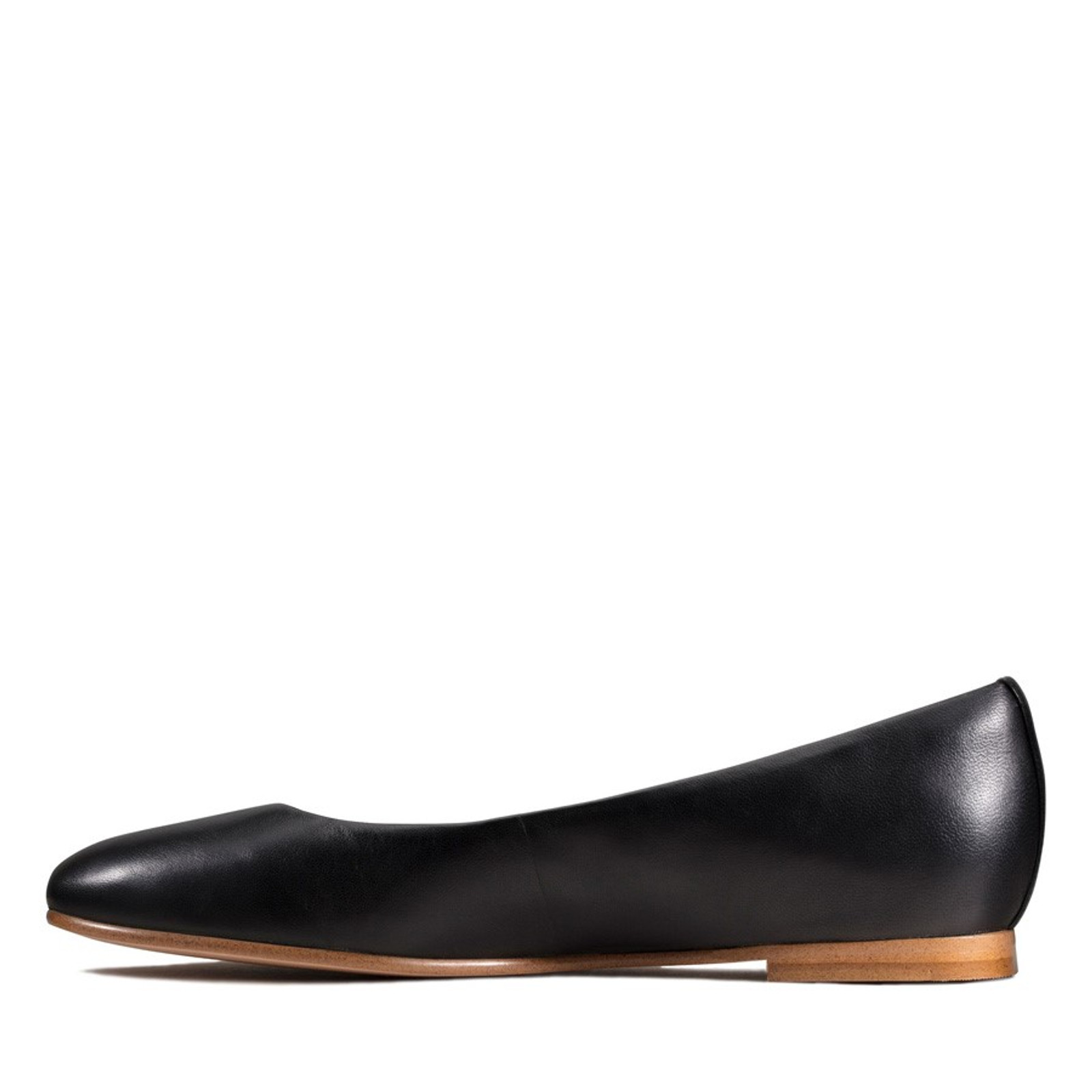 Clarks Womens GRACE PIPER Black Leather