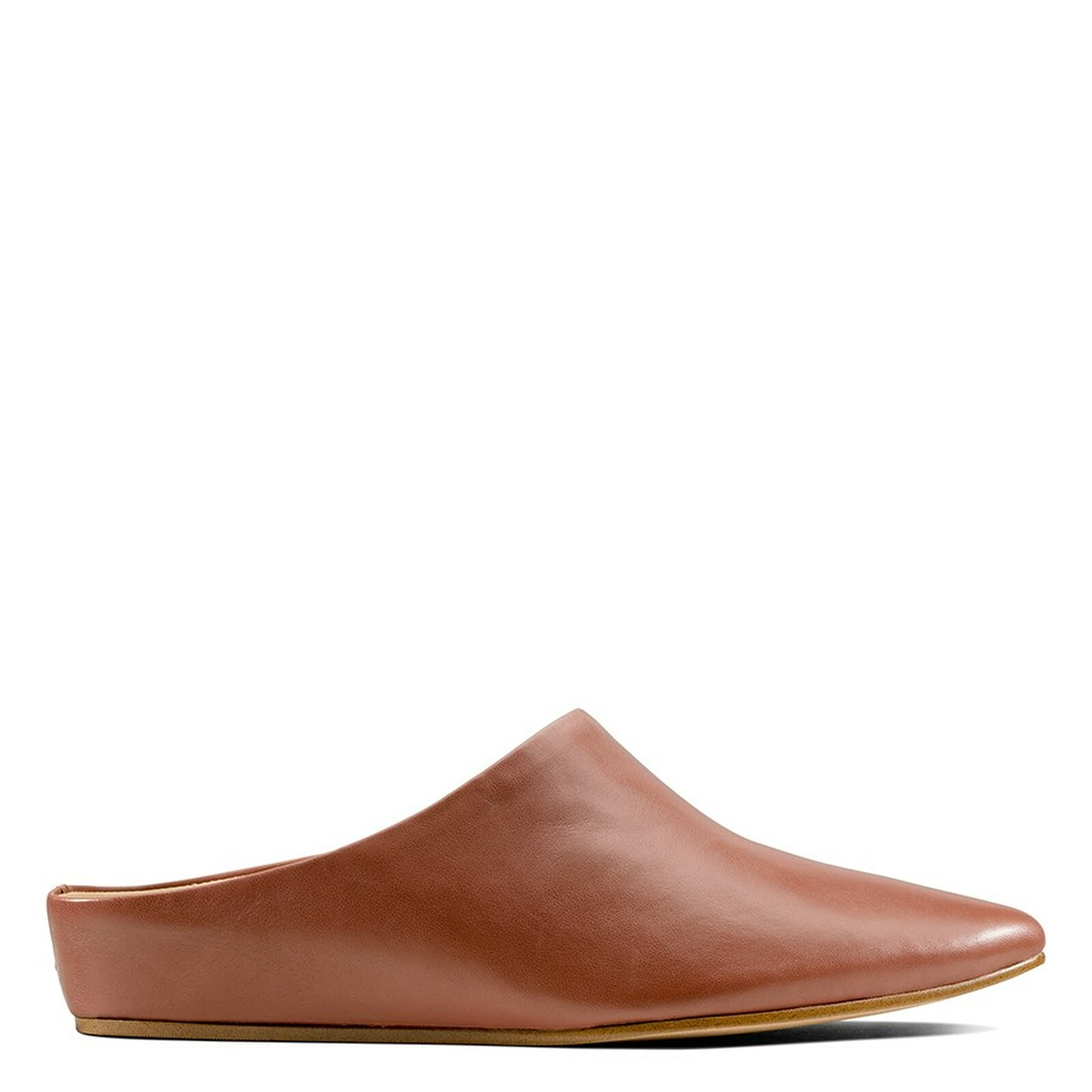 Clarks Womens SENSE BEAU Tan Leather