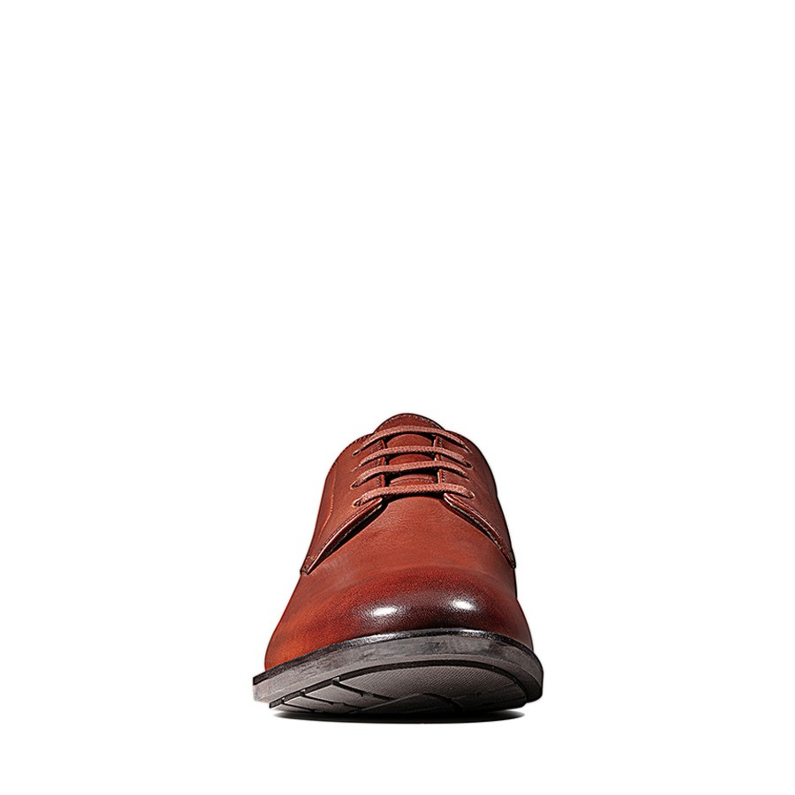 Clarks Mens RONNIE WALK British Tan Leather