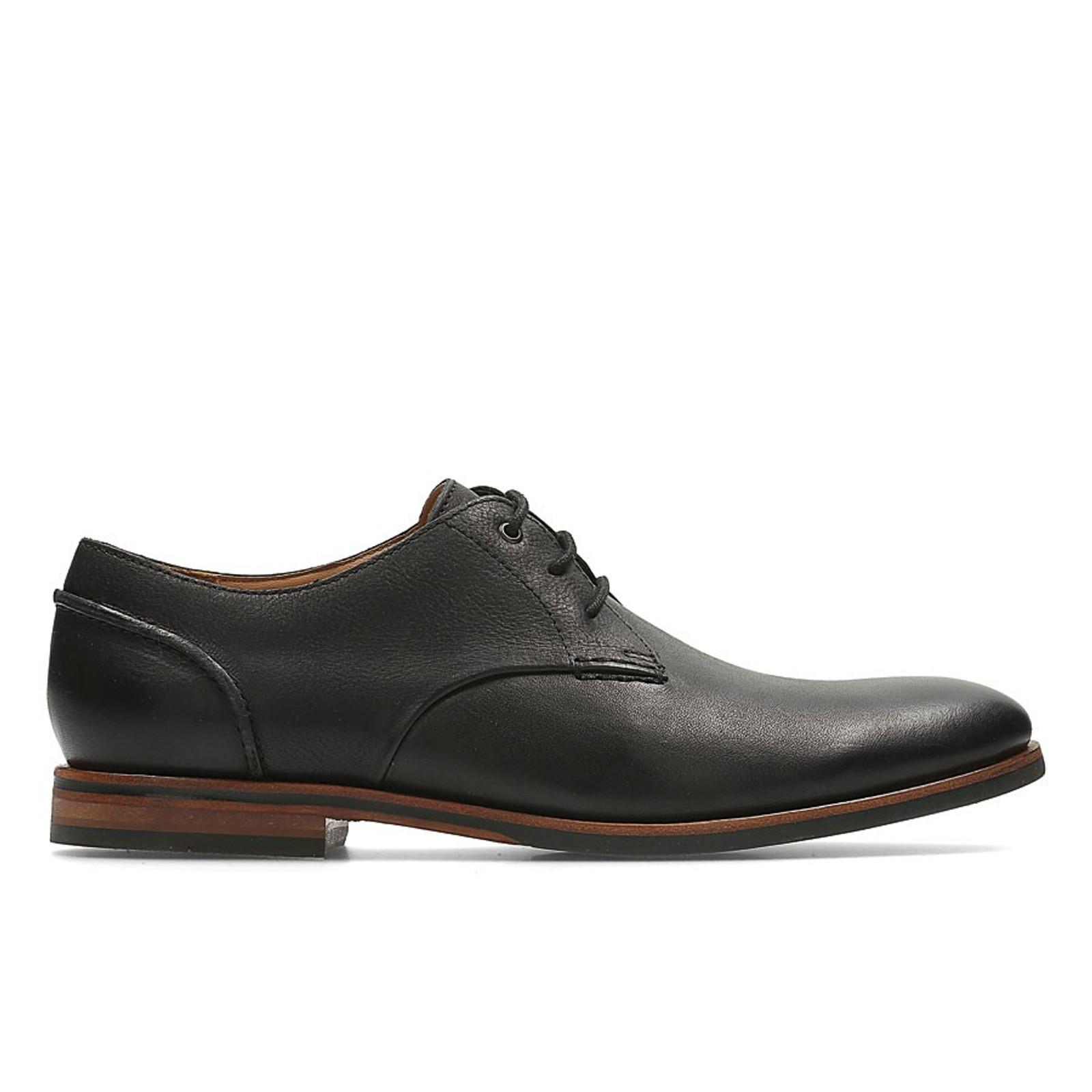 conjunto Enemistarse déficit  Broyd Walk Black Leather By Clarks