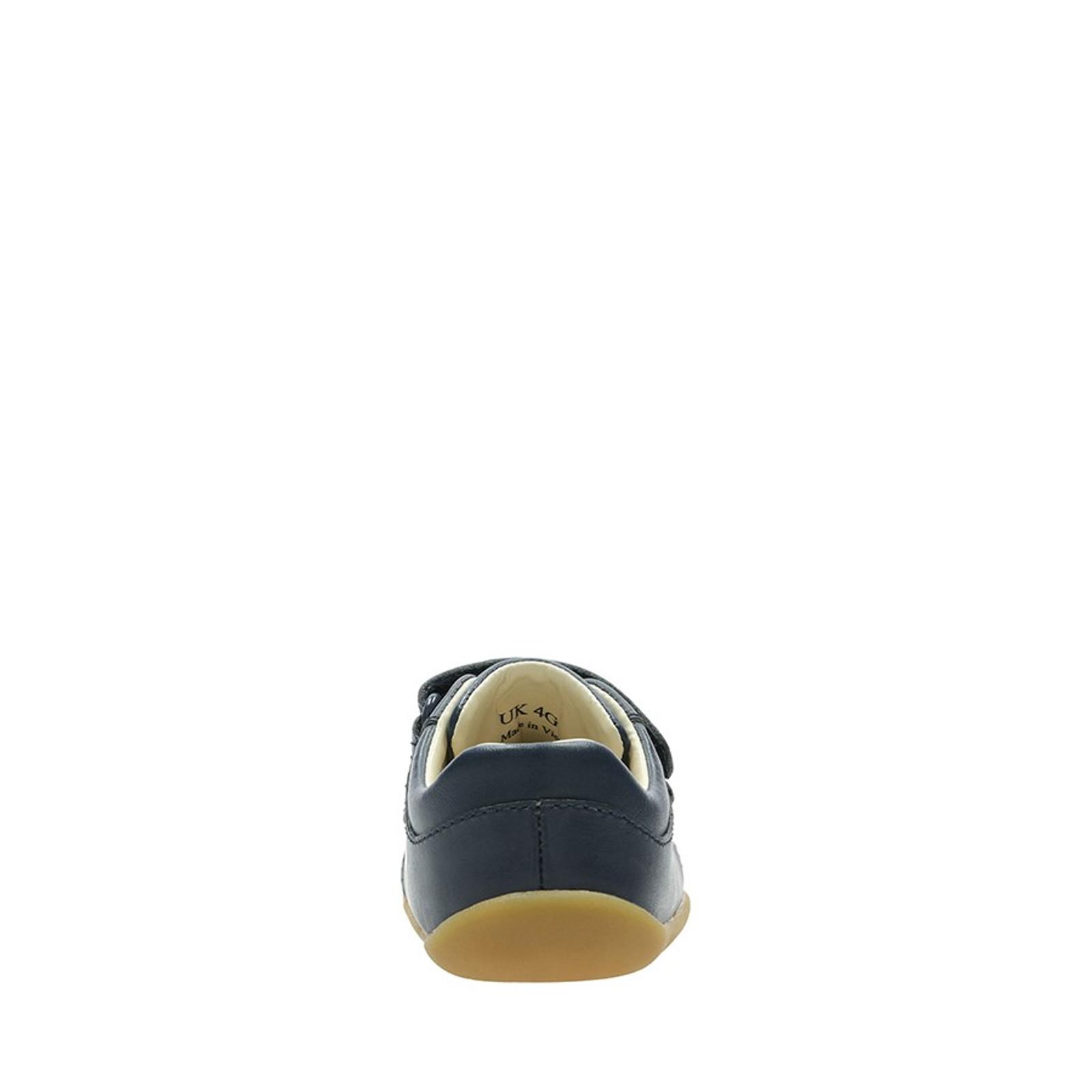 Clarks UnisexChildren ROAMER CRAFT T Navy Leather