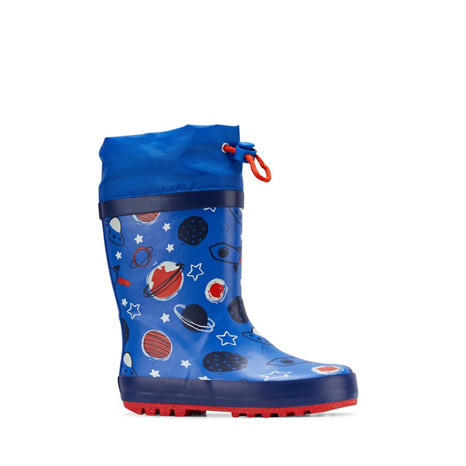 Clarks UnisexChildren PUDDLES Blue/Red Planets