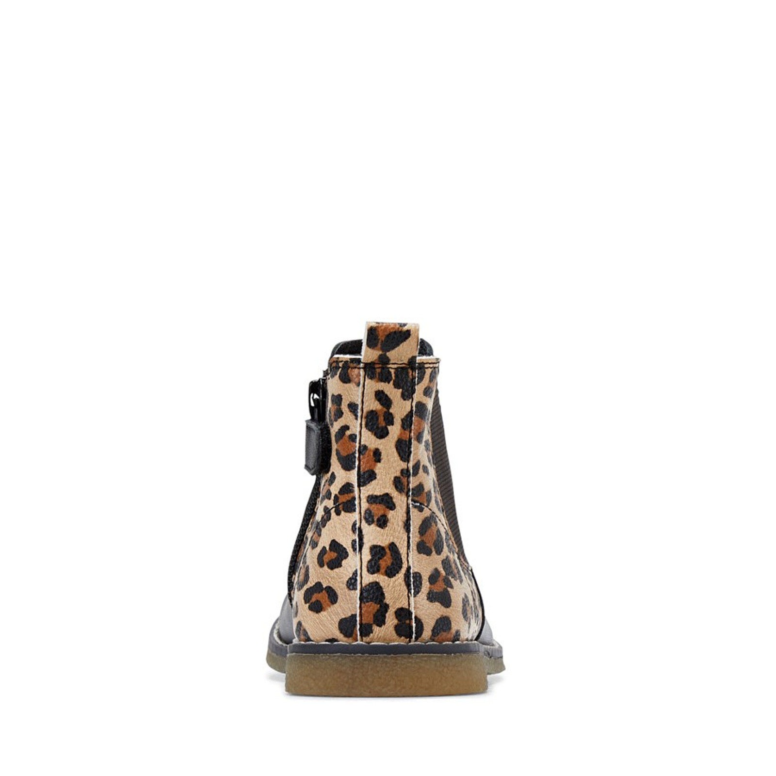 Clarks UnisexChildren CHELSEA Black Leopard
