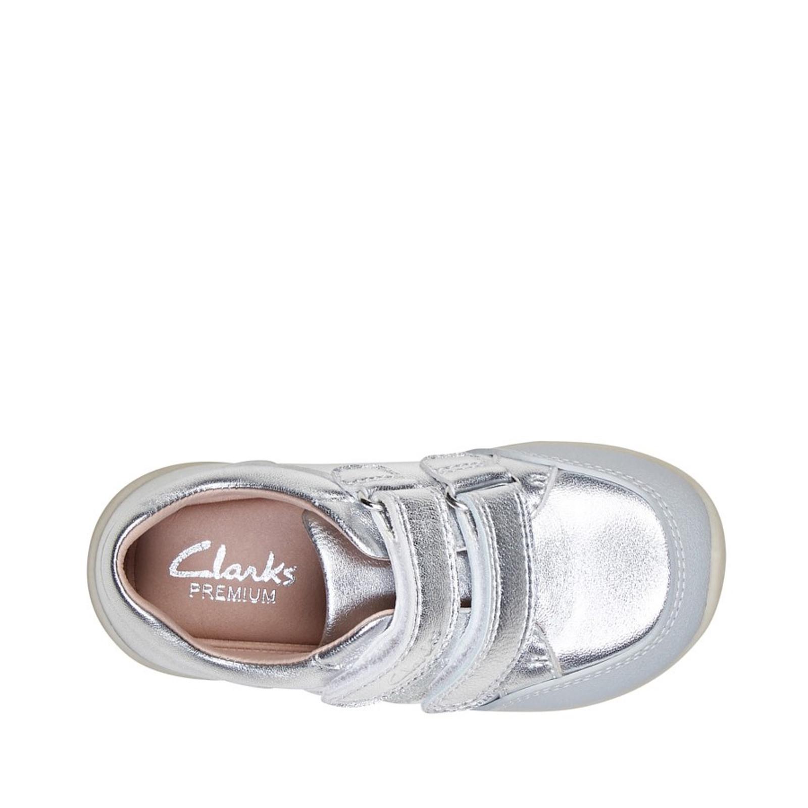 Clarks UnisexChildren MICKY Silver