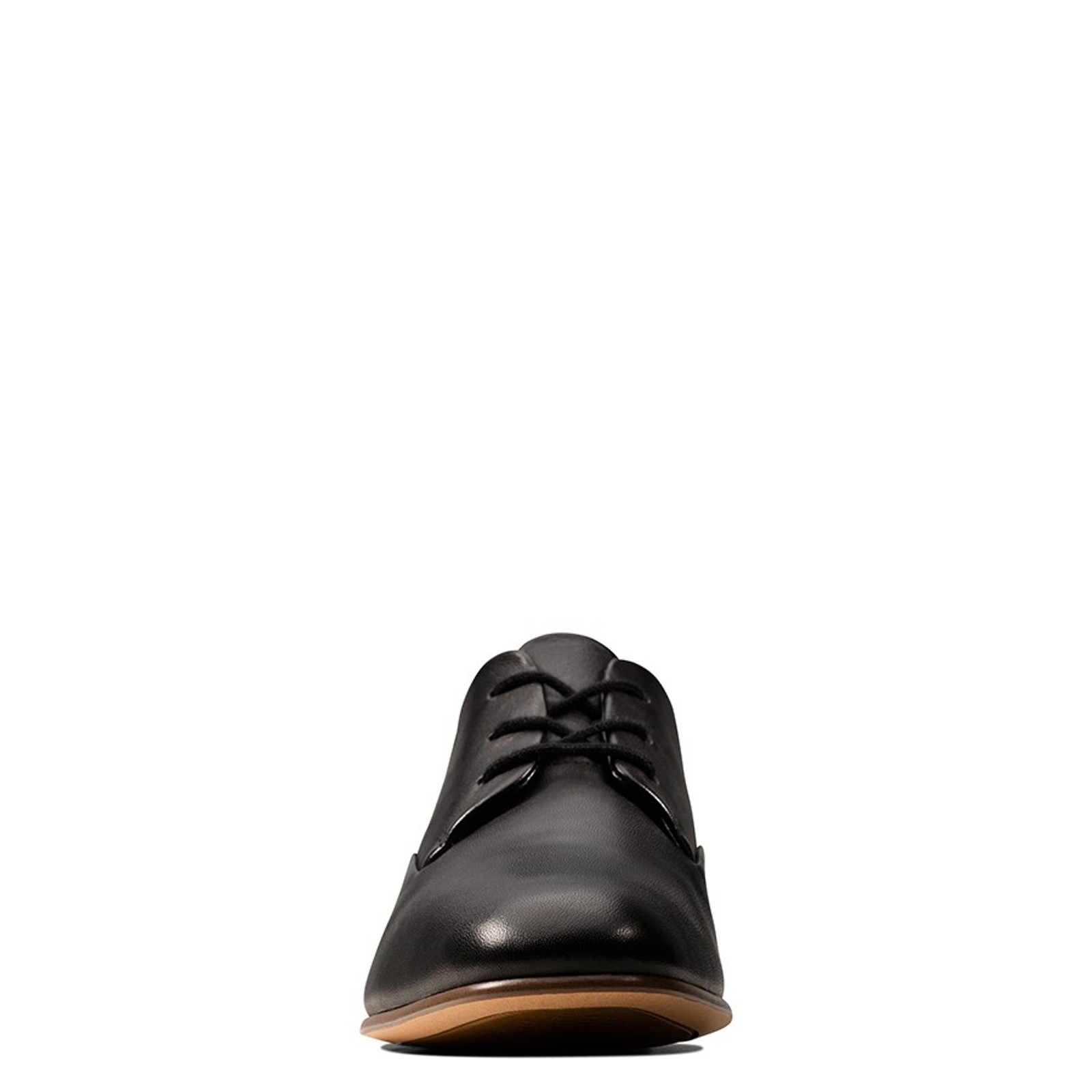 Clarks Womens PURE MIST Black Leather