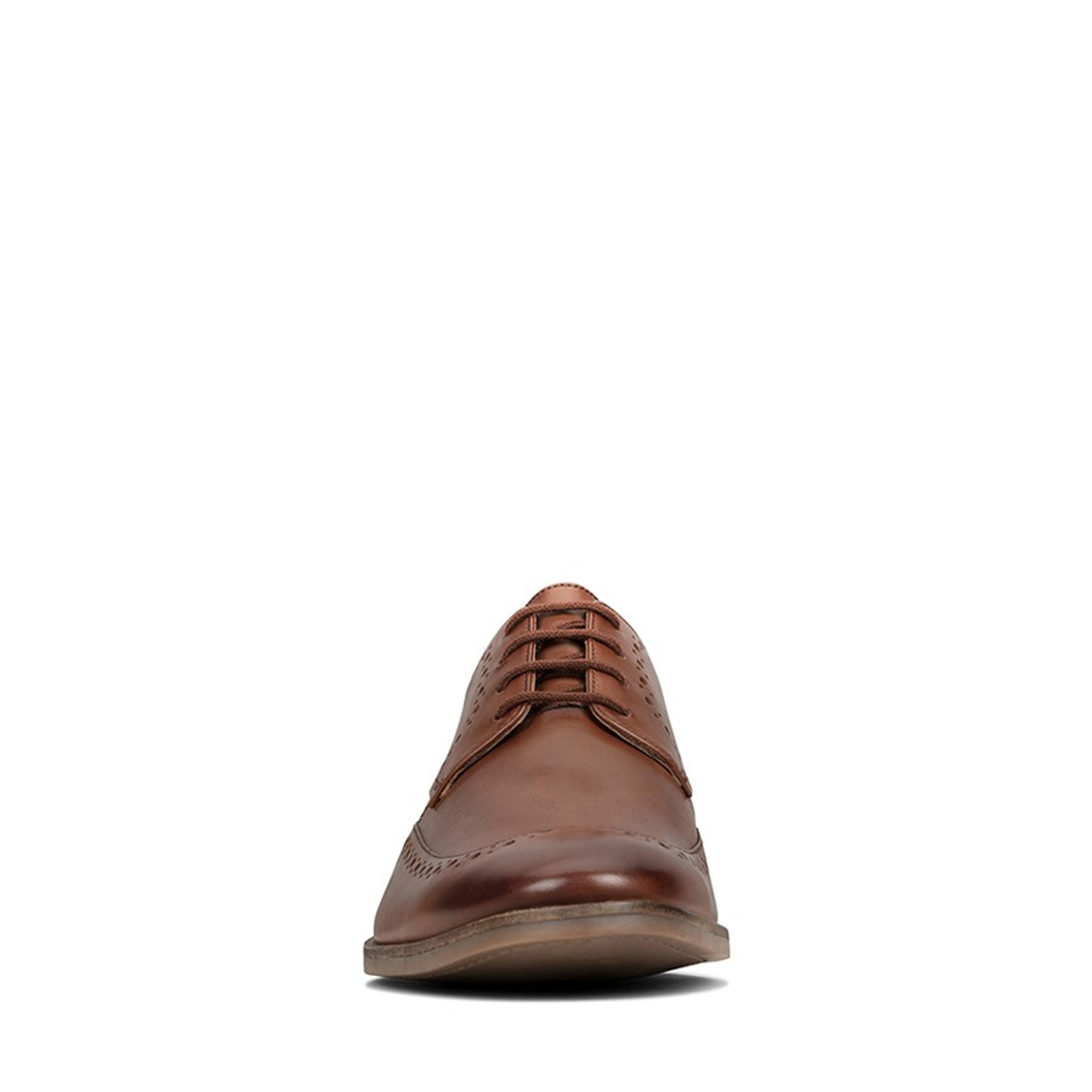 Clarks Mens STANFORD LIMIT Tan Leather