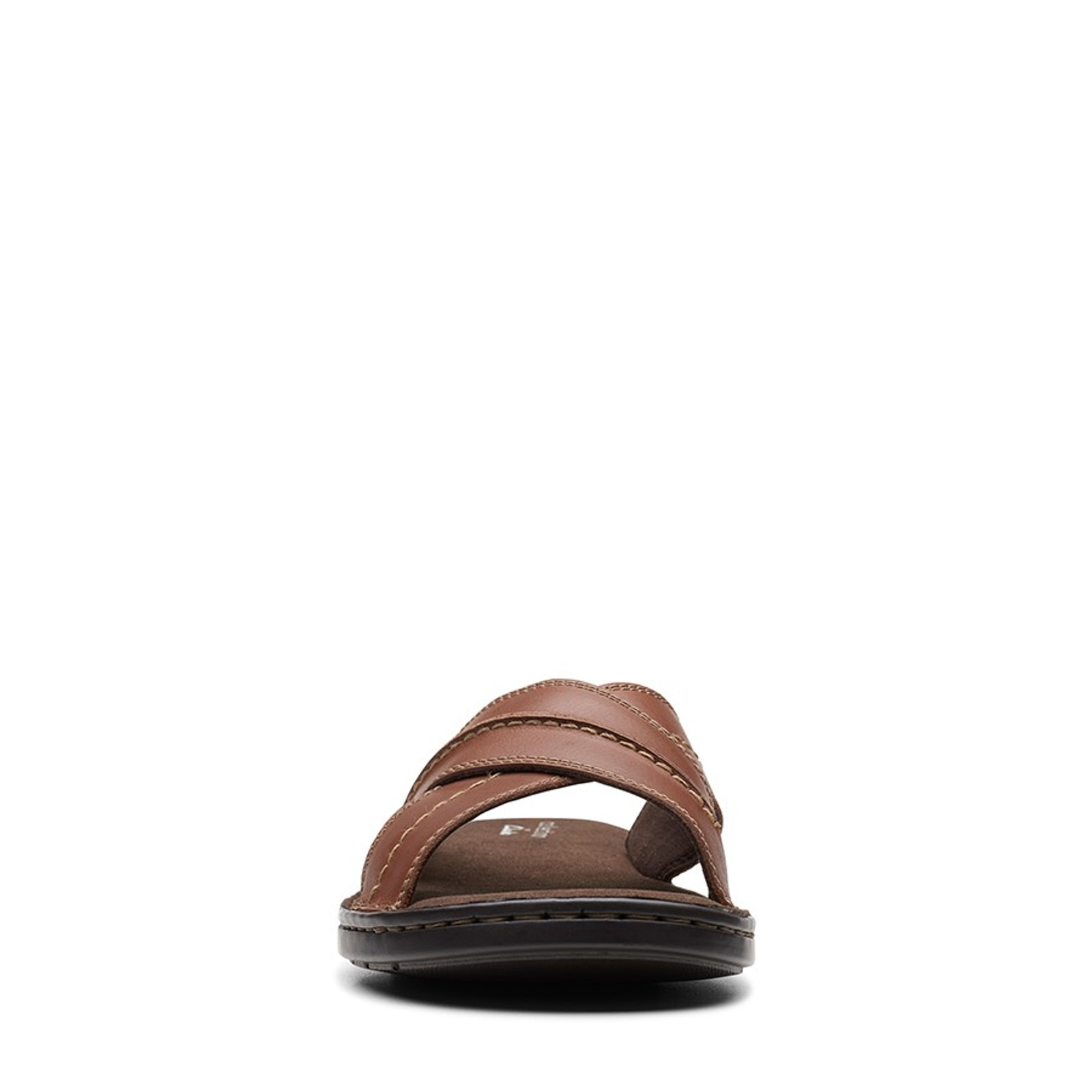 Clarks Mens MALONE CROSS Tan Leather