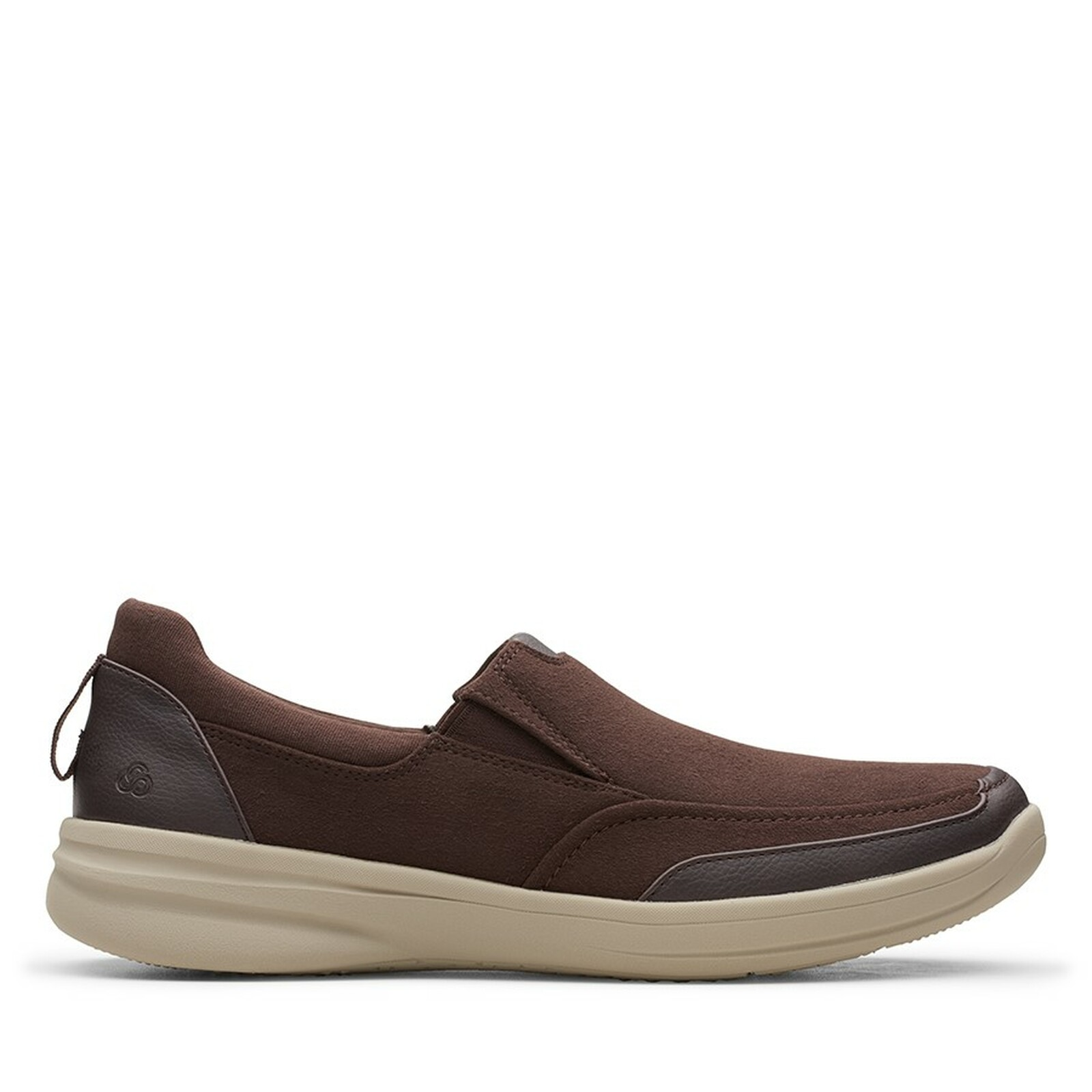 Clarks Mens STEPSTROLL EDGE Brown Leather