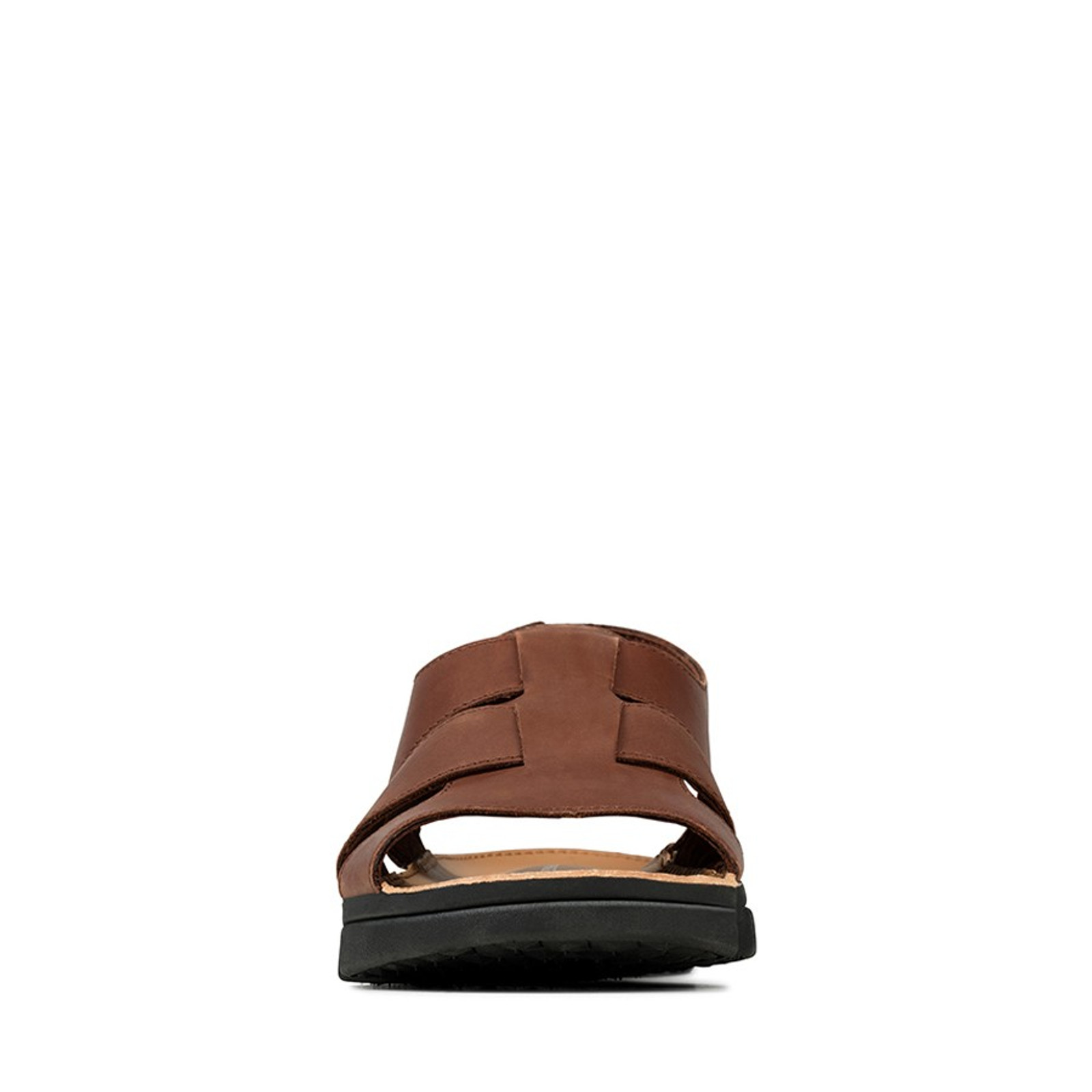 Clarks Mens TRI COVE SKY British Tan Leather