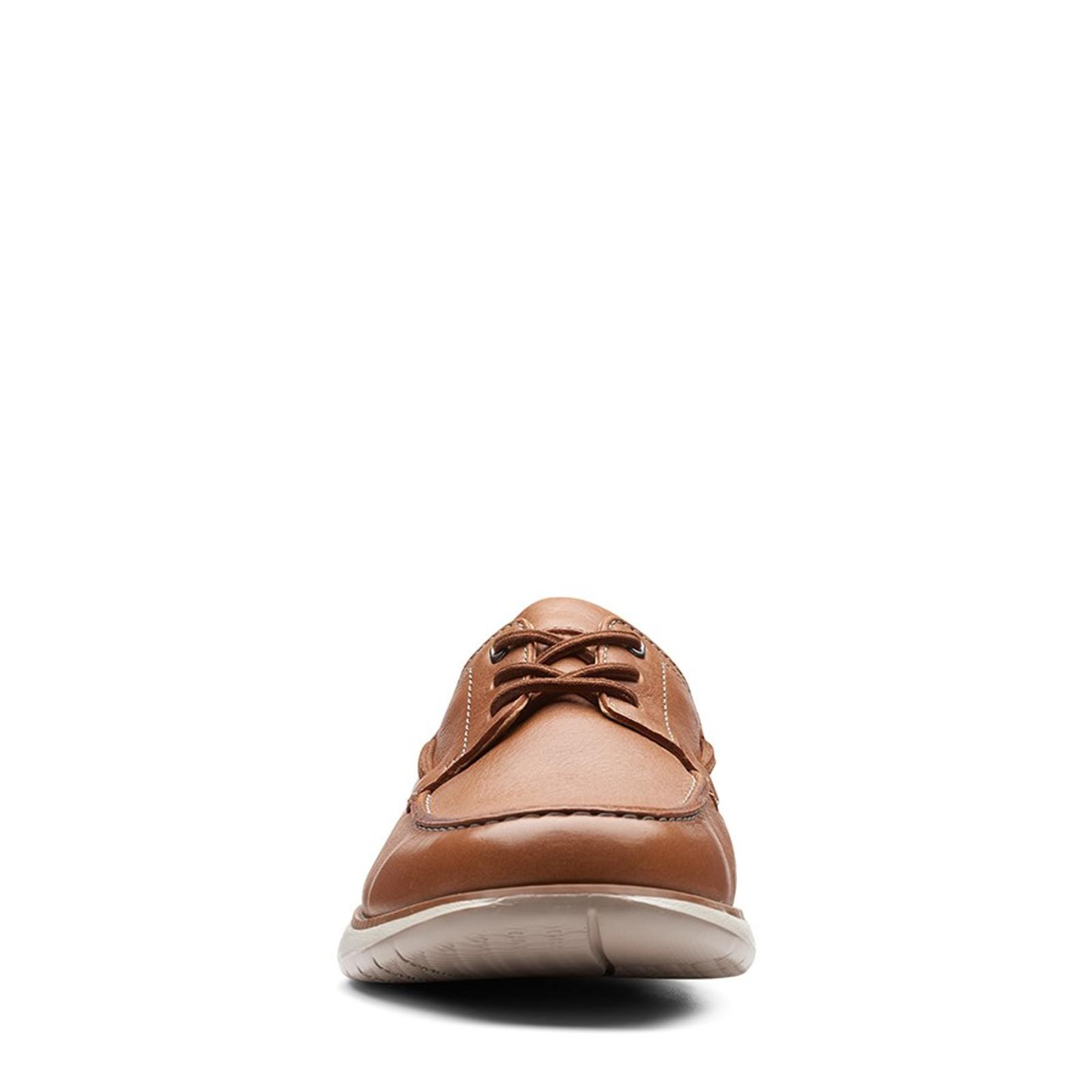 Clarks Mens UN PILOT LACE Tan Leather