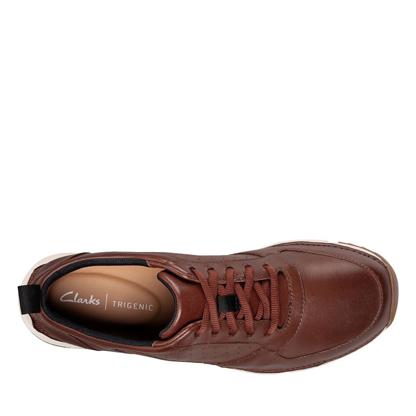 Clarks Mens TRI SPRINT British Tan Leather