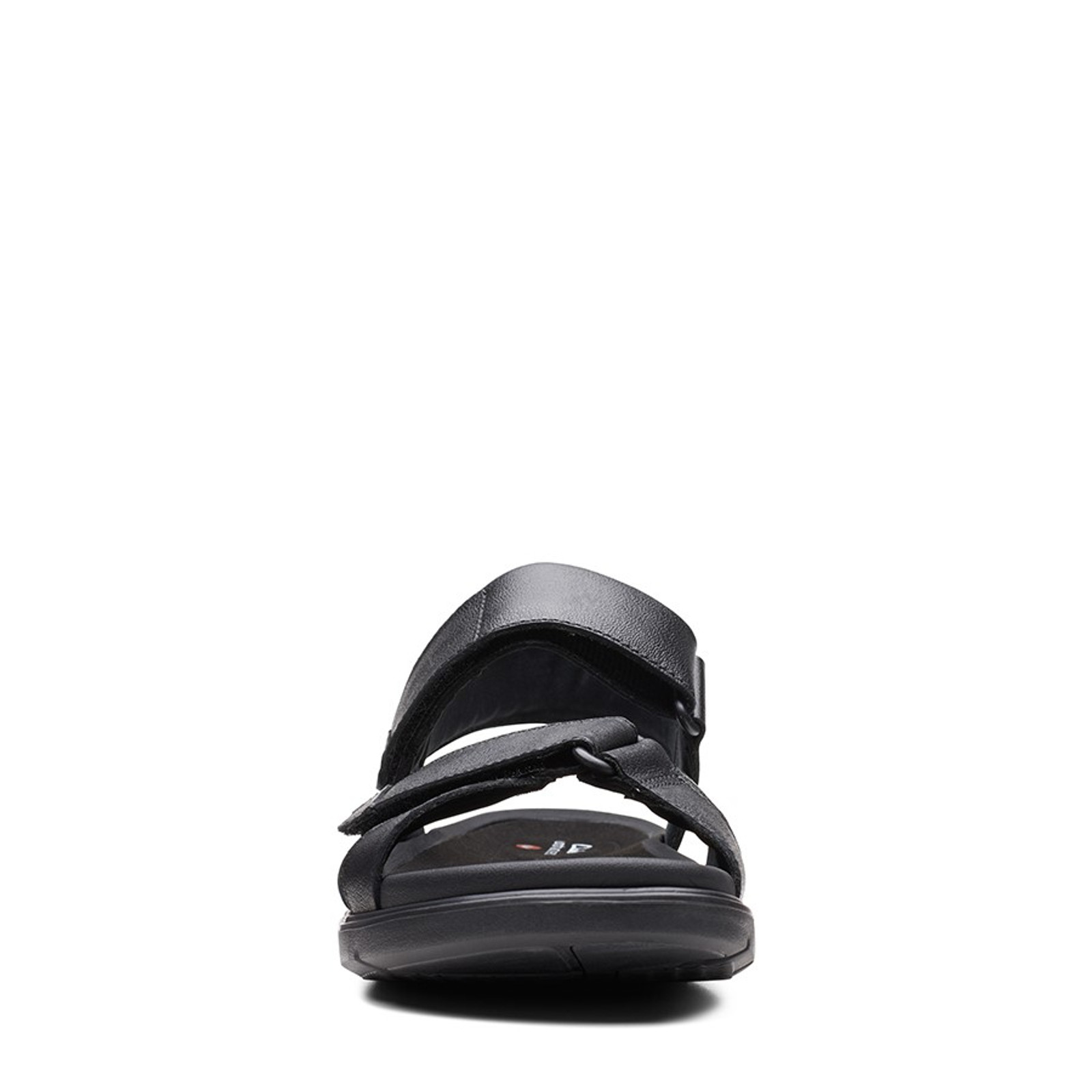 Clarks Mens UN WILMORE BAND Black Leather