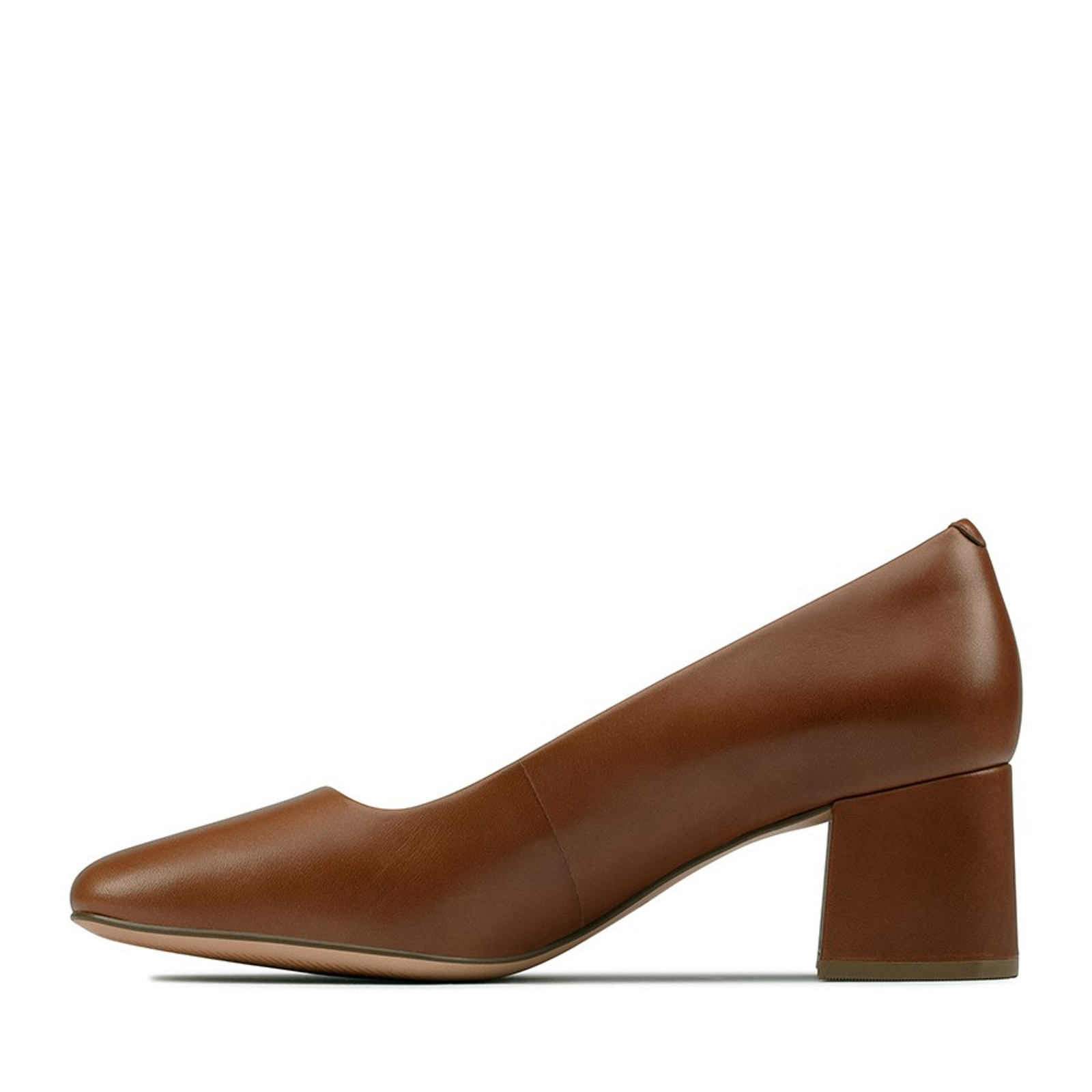 Clarks Womens SHEER ROSE Tan Leather