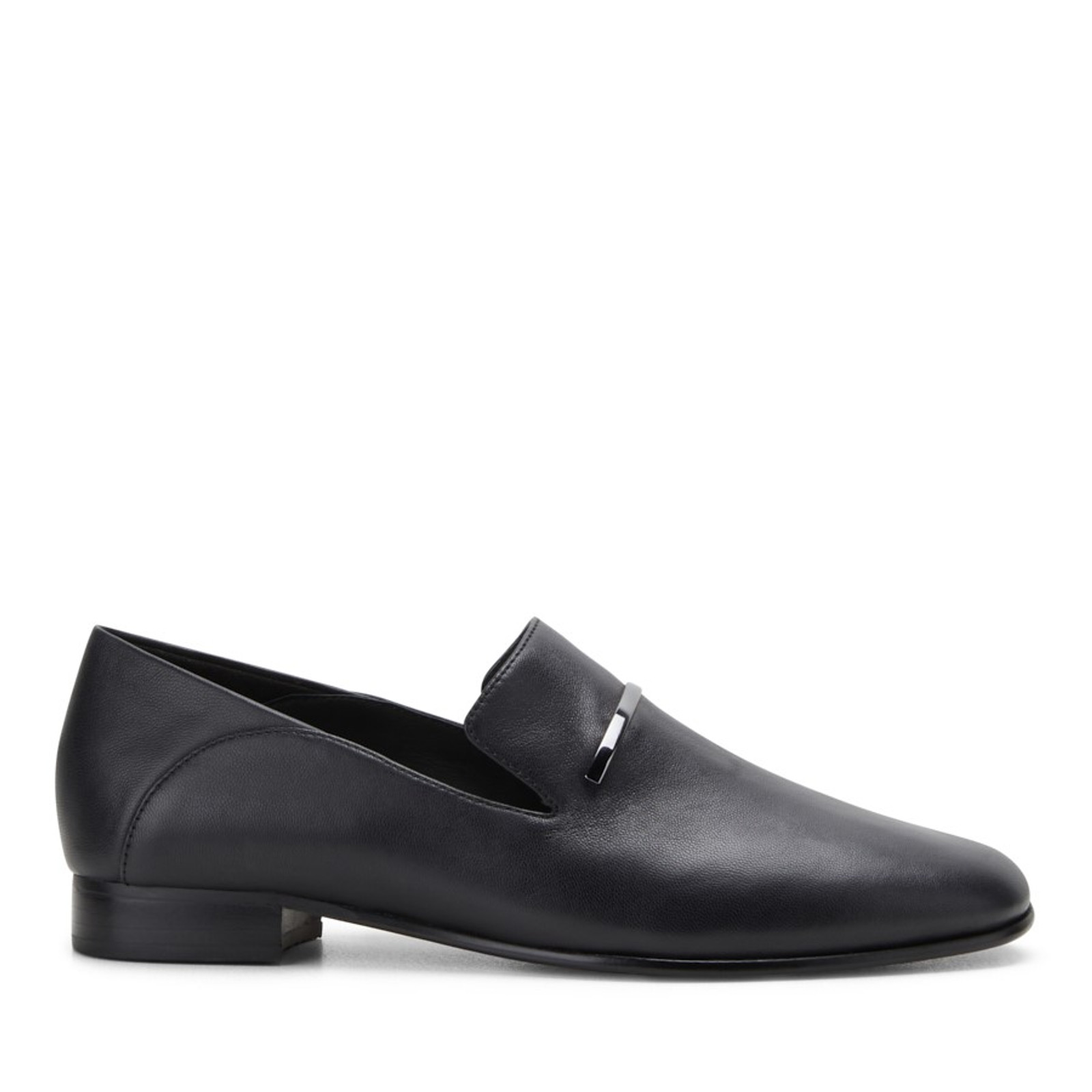 Clarks Womens PUREVIOLA TRIM Black Leather