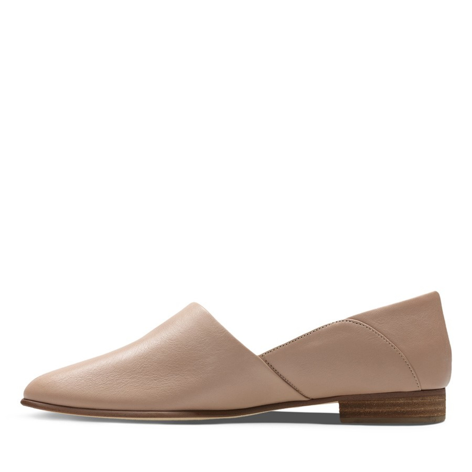 Clarks Womens PURE TONE Nude Leather